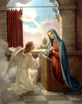 March 25 Annunciation of the Lord by americancatholic.org
