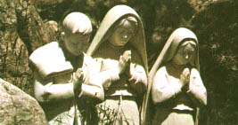 The Fatima Children at prayer