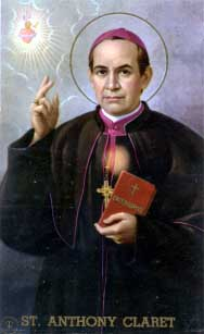 St. Anthony Mary Claret, d. 1870