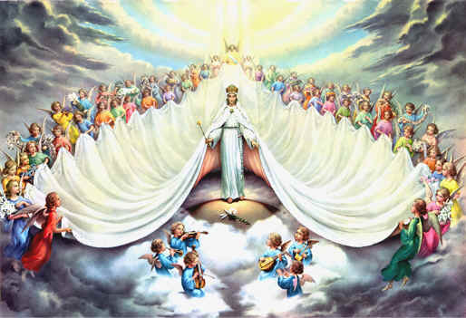** Mary, Immaculate Queen of the Universe **