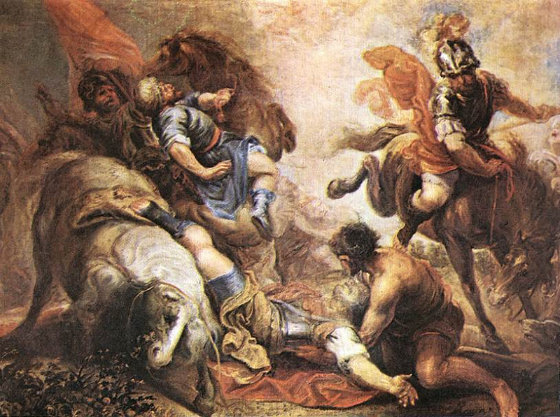 Feast of the Conversion of St. Paul — January 25 dans immagini sacre conversionStPaulEscalante