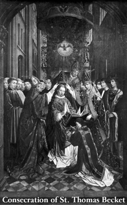 Consecration of St. Thomas a Becket