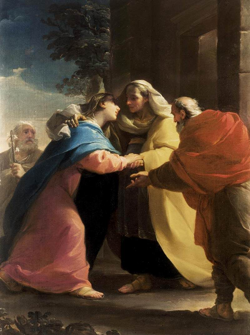Life Of Mary In The Gospels Visitation