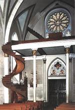 アメリカのサンタ・フェにある有名な聖ヨゼフの階段